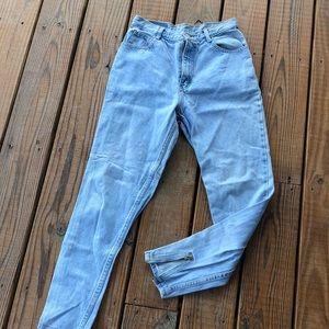 90's Vintage Jordache High Waist Jeans w/Ankle Zip